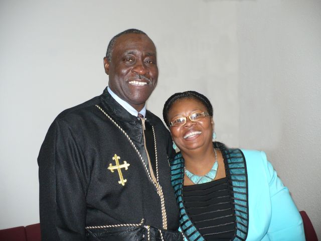 Pastor and Lady Armstrong