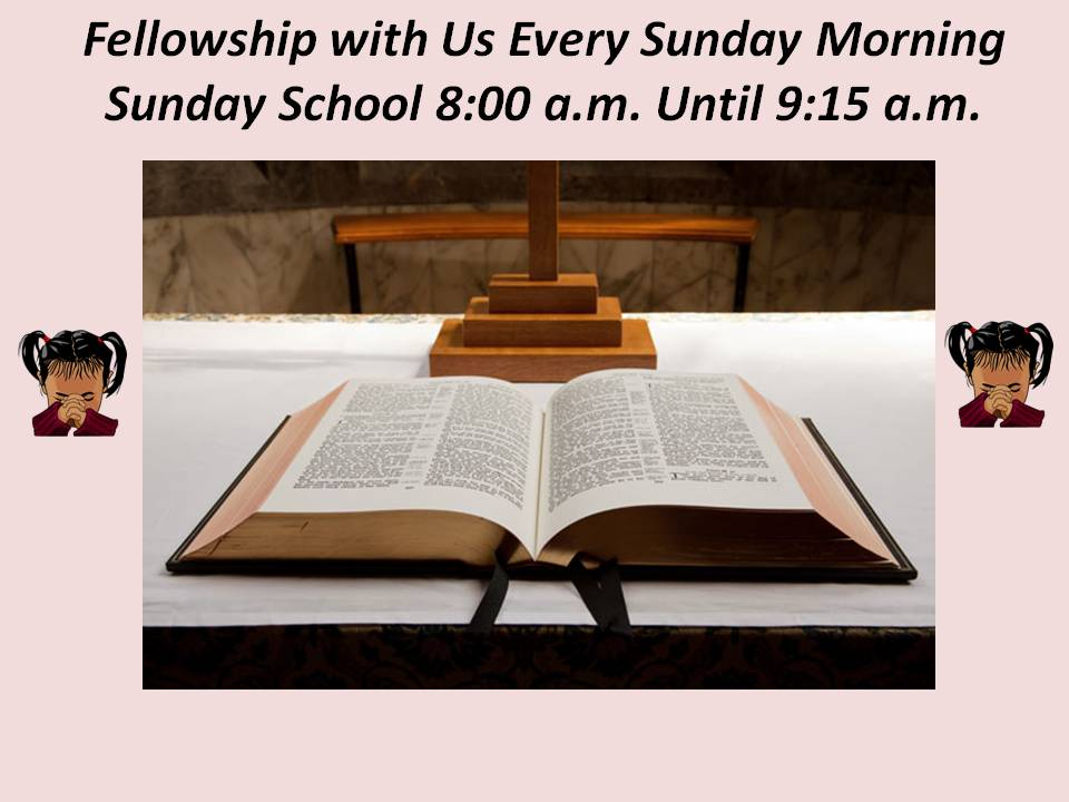 Sunday School Blank
